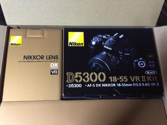 望遠レンズとVRⅡ Kit