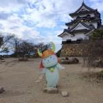 彦根城にひこにゃんいたー!グッズもたくさん買ってしまった!