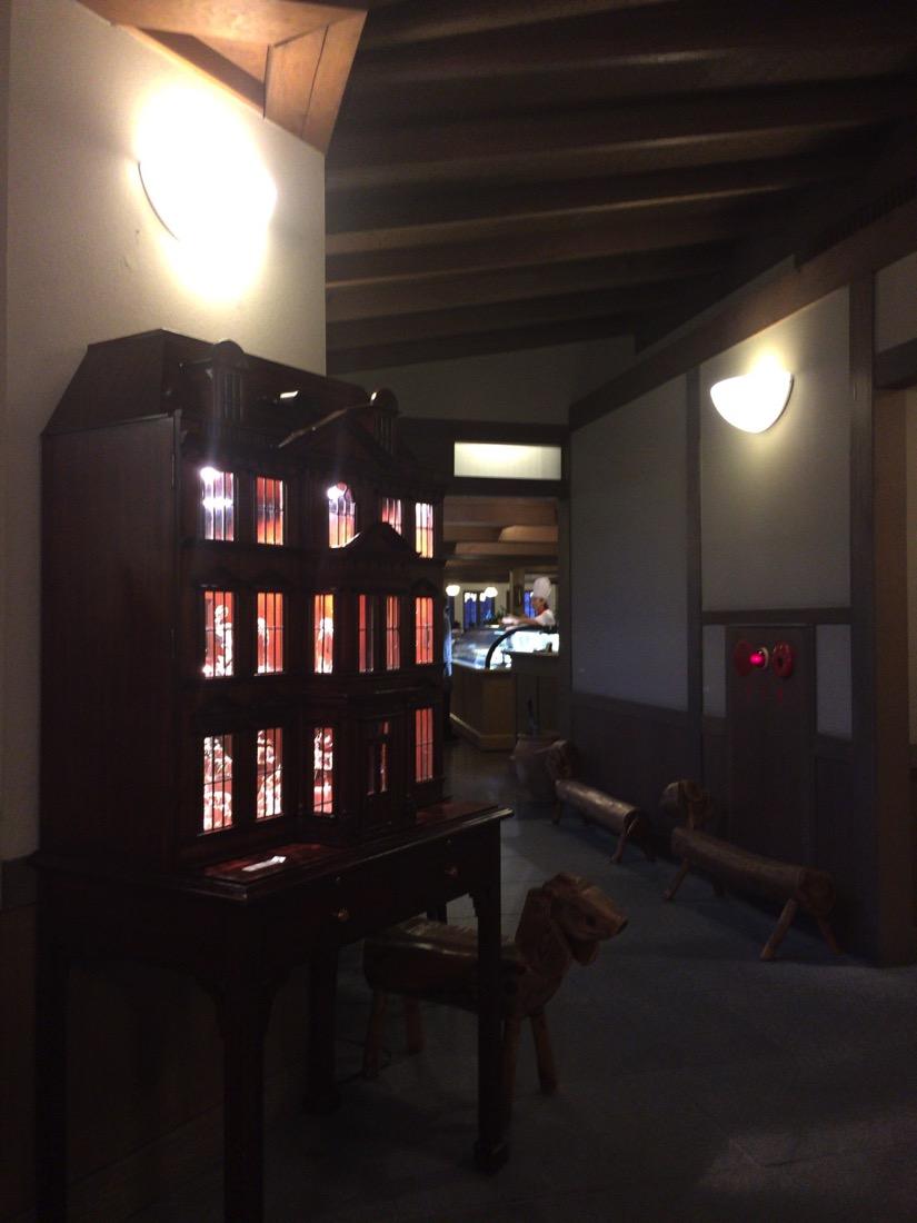 クラブハリエ側入口