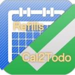 Refills、Cal2Todoよありがとう!私がカレンダー・Todoアプリに求めること