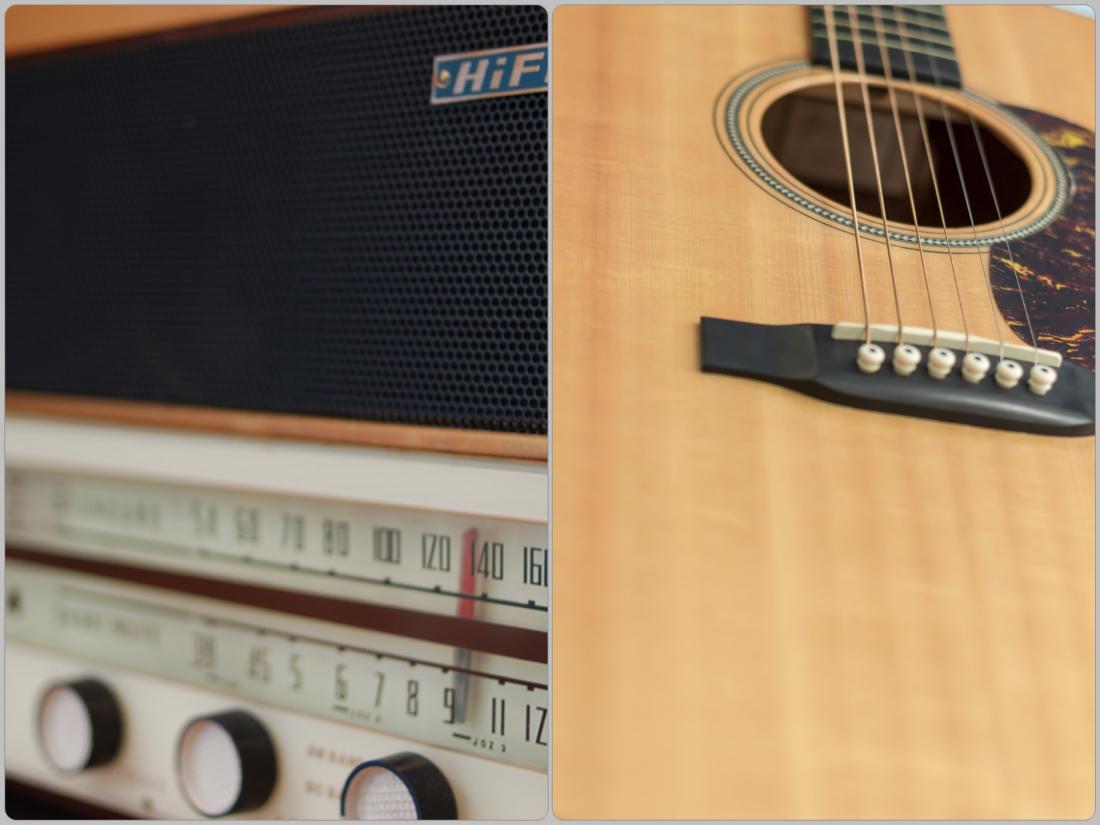 アコギとラジオ