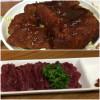 会津若松「いとう食堂」は肉厚ソースカツ丼と馬刺しも美味しい!