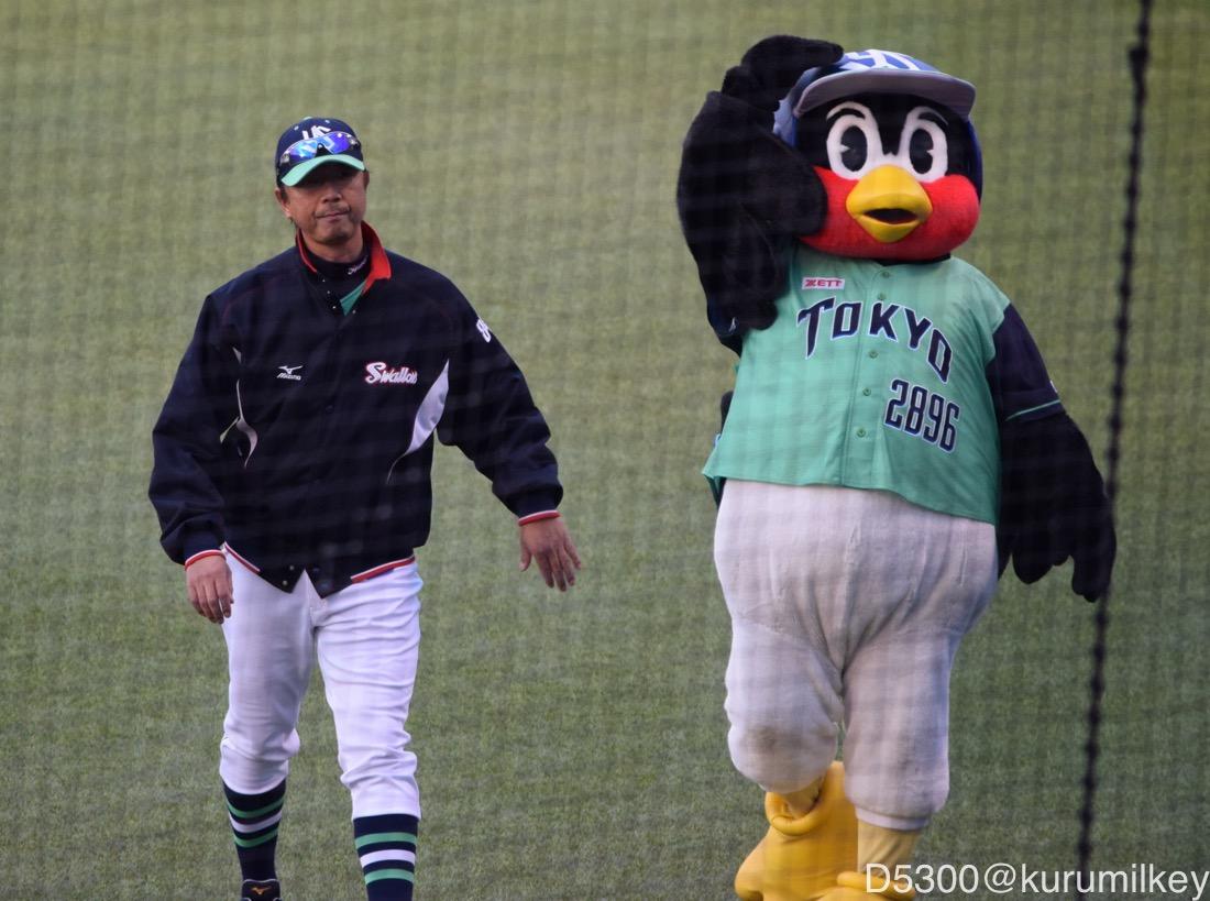 伊藤コーチとつば九郎②