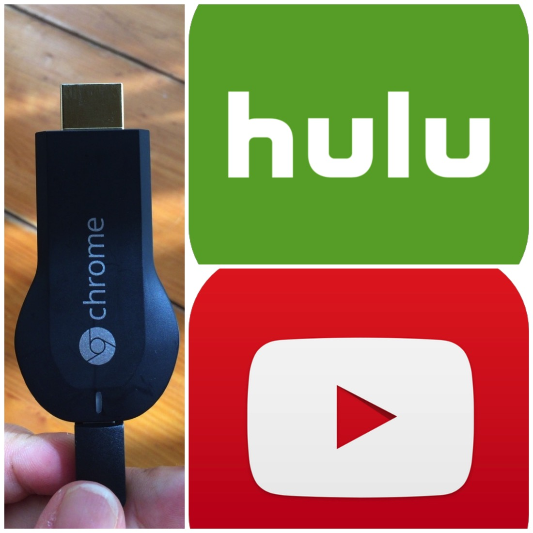 Chromecast hulu youtube