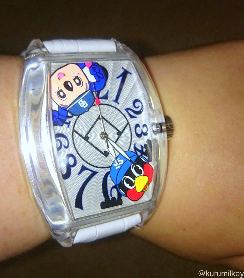 つば九郎・ドアラ時計