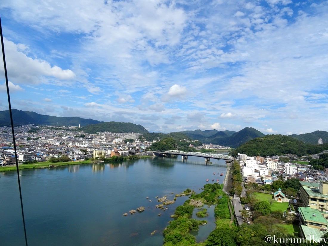 木曽川を望む3