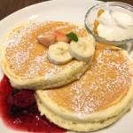 高倉町珈琲のパンケーキがあればしあわせ。
