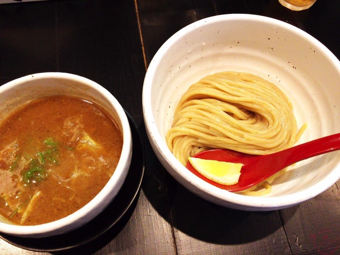 蔵木のつけ麺