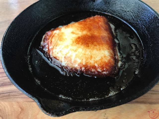 アンジュ・ド・フロマージュの「ふらいぱん」のスキレット焼き